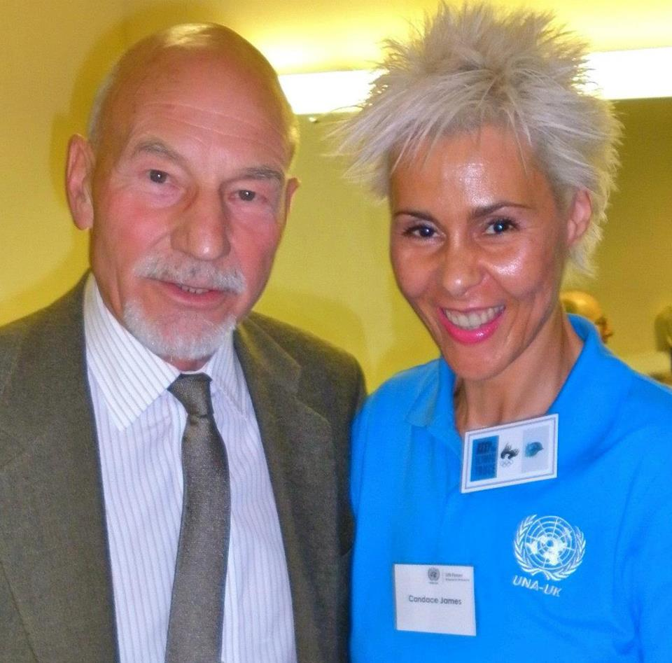 Sir Patrick Steward, Patron of UNA-UK and peace advocate